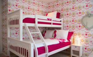 双胞胎儿童房室内儿童床装修效果图
