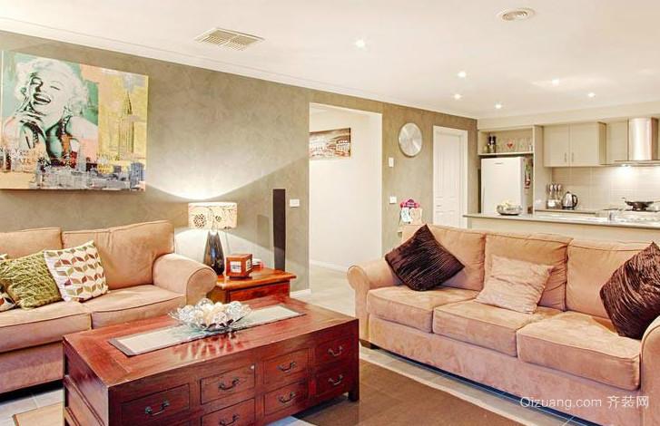 交换空间小户型客厅装修设计效果图