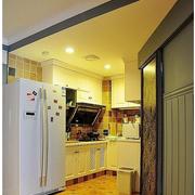 厨房木地板效果图片