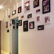 唯美系列照片墙装修
