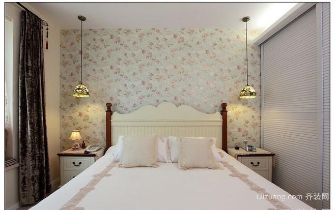 温馨舒适小卧室壁纸装修效果图