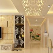 中式风格走廊吊顶图片