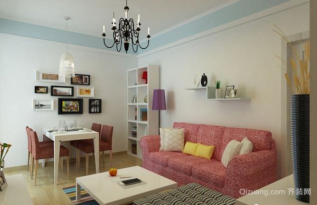50平米小户型单身公寓装修效果图
