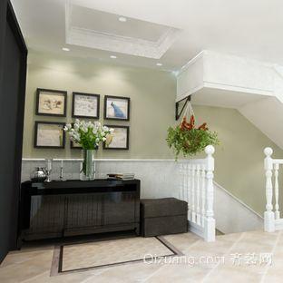 现代单身公寓美式风格照片墙装修效果图