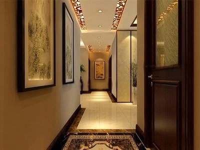大户型客厅走廊吊顶装修效果图