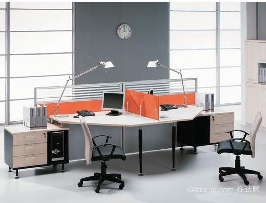 时尚创意办公隔断屏风效果图