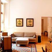 公寓地板砖装修图片