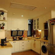 唯美型厨房效果图片