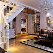 客厅楼梯装修图片