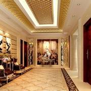 走廊设计背景墙图