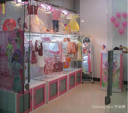 现代简约欧式童装店装修效果图
