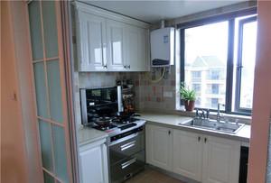 简约中式大户型厨房装修效果图