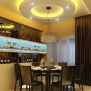 美观型餐厅吊顶图片