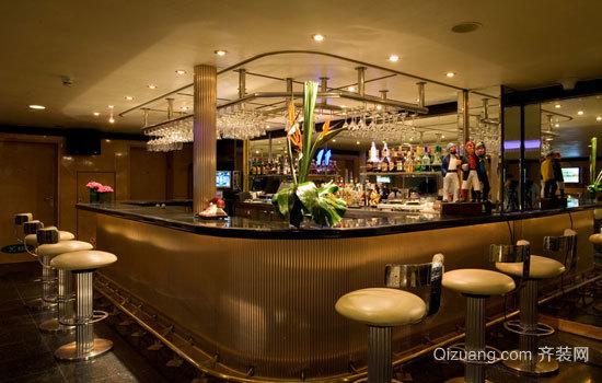 酒吧吧台装修效果图