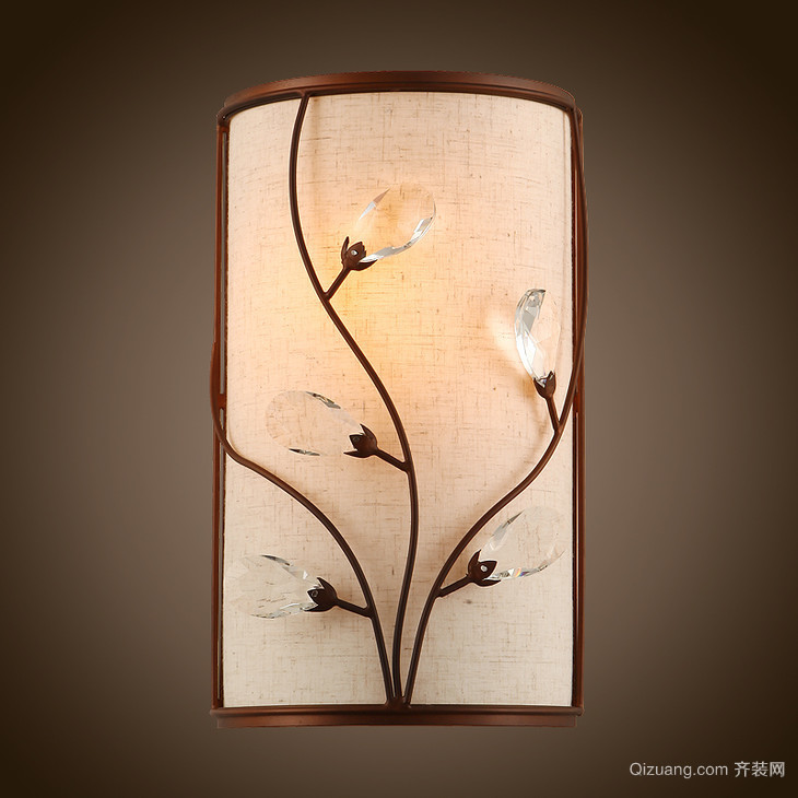 客厅中式古典吊灯效果图