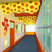 自然风格幼儿园效果