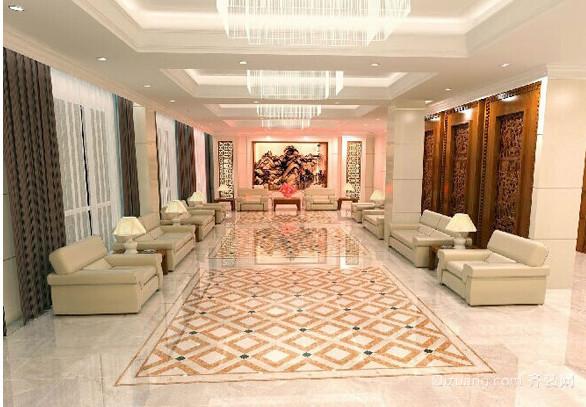 炫彩华丽的美式马可波罗瓷砖装修效果图
