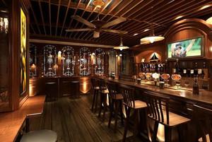 美式风格都市酒吧装修效果图