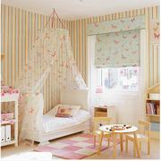 粉色调儿童卧室图片