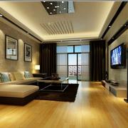 室内木地板效果图片