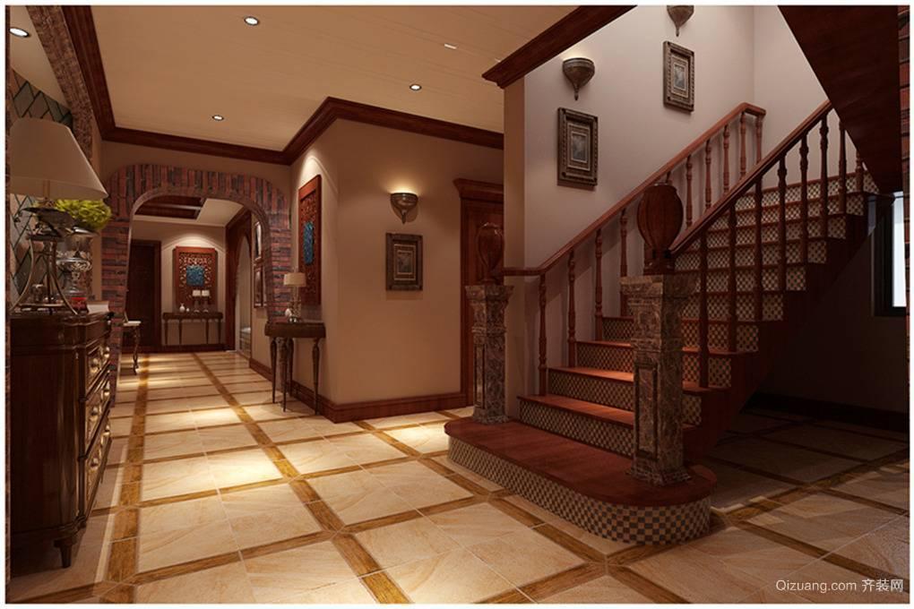 个性十足的东南亚楼梯装修风格
