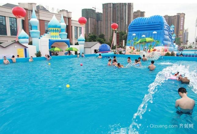 儿童水上游乐场装修效果图