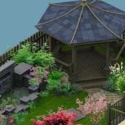 屋顶花园精致图
