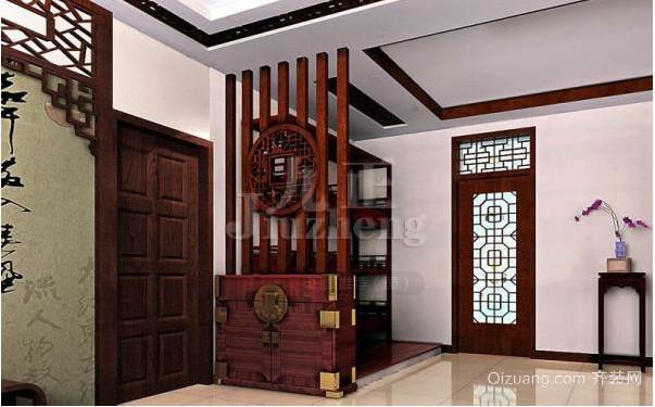 中式50平米小户型房屋装修效果图