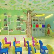 田园风格幼儿园效果图