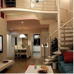 现代跃层楼梯装修效果图