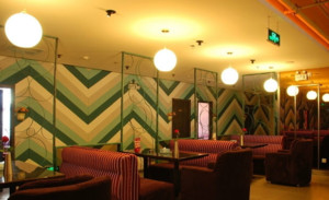 美式风格家具咖啡店装修