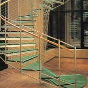 暖色调楼梯效果图片