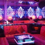 酒吧背景墙效果图片
