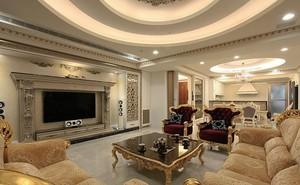 单身公寓欧式古典客厅装修效果图