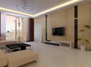 欧式风格马可波罗瓷砖复式楼装修效果图