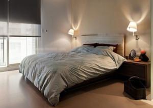 小型欧式卧室床头壁灯效果图