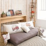 淡色调卧室沙发图片