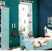 田园风格儿童卧室图片