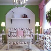 紫色调客厅设计大全
