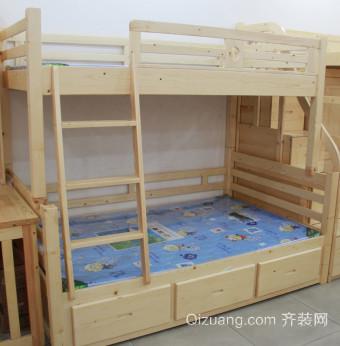 中式风格卧室上下床装修效果图