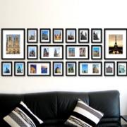 宜家风格照片墙效果图