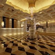 美容院地板砖效果图