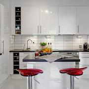 清新风格厨房装修图片