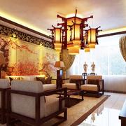 传统型客厅吊顶图片
