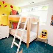 唯美型儿童房效果图