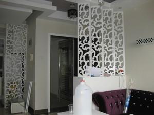 120平米大户型三室二厅进门玄关鞋柜隔断装修效果图