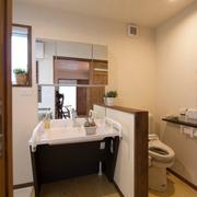 大户型洗手间效果图