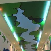 幼儿园过道墙体效果图
