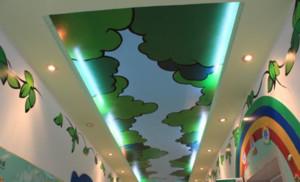 幼儿园墙体彩绘图片