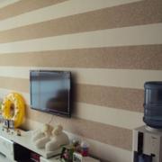 灰色调电视背景墙